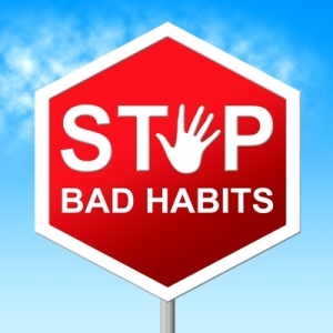 Stop the bad habit