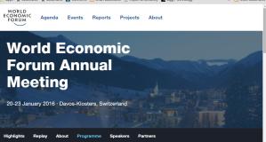 World Economic Forum 2016 at Davos